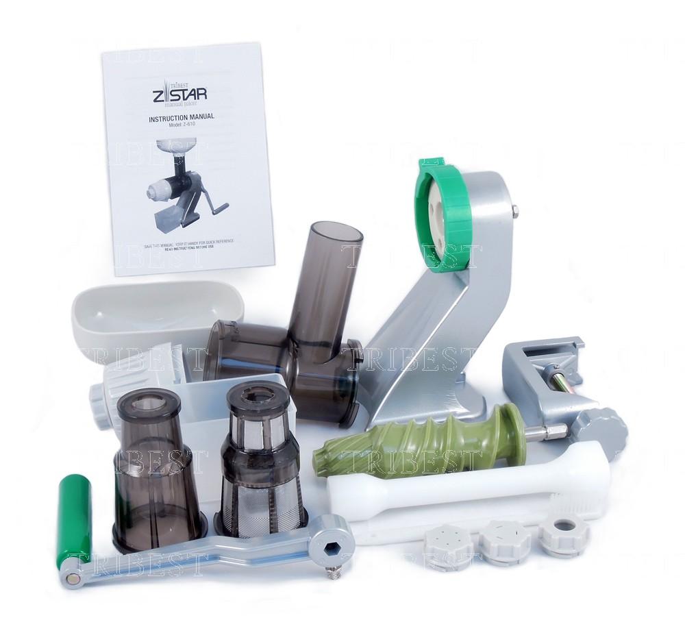 Slowjuicer Handpers : Z-star Z-510 Slowjuicer